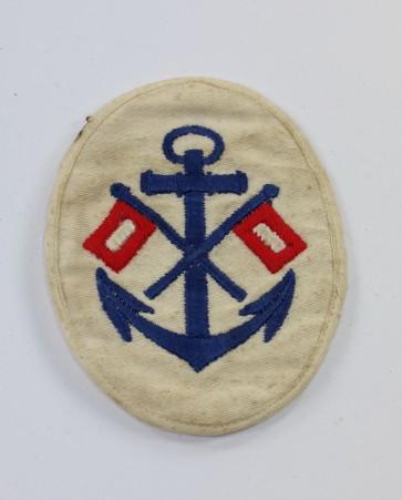 Kriegsmarine, Ärmelabzeichen für einen Signalmaat - Militaria-Berlin