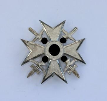 Legion Condor, Spanienkreuz in Silber mit Schwertern, 835 Wilhelm Deumer - Militaria-Berlin