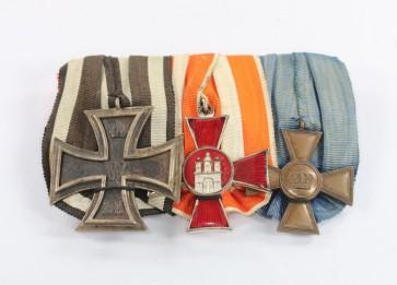 Ordensschnalle 3X - Militaria-Berlin