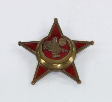 Osmanisches Reich, Eisernes Halbmond (Stern von Gallipoli), Hst. BB&Co. bronzierte (!) Variante - Militaria-Berlin