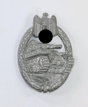 Panzerkampfabzeichen in Silber, Hst. FLL 43 - Militaria-Berlin
