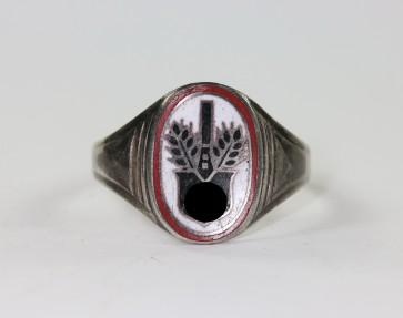"""Reichsarbeitsdienst (RAD), Ring, Silber 835, """"FP"""" - Militaria-Berlin"""