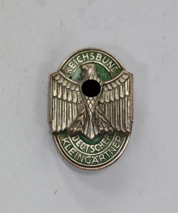 Reichsbund Deutscher Kleingärtner (RDK), Mitgliedsabzeichen, Hst. Frank & Reif Stuttgart-W - Militaria-Berlin