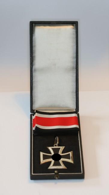 Ritterkreuz des Eisernen Kreuzes, Steinhauer & Lück, Mikro 800, im Etui - Militaria-Berlin