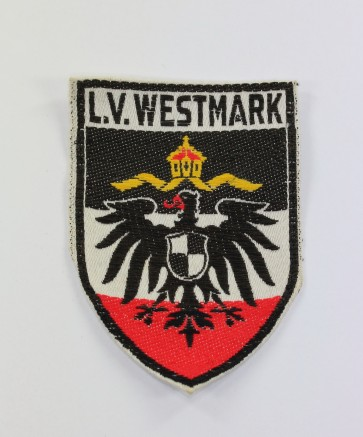 Stahlhelm Bund, Ärmelabzeichen - L.V. Westmark - Militaria-Berlin
