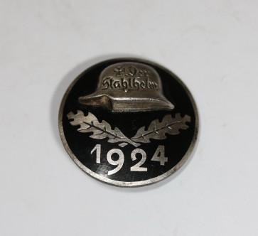 Stahlhelmbund - Eintrittsabzeichen 1924, Silber 935 - Militaria-Berlin