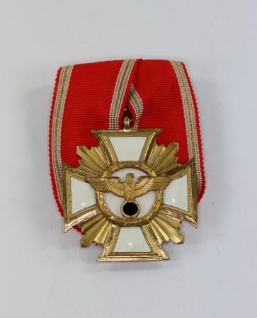 NSDAP Dienstauszeichnung in Gold (25 Jahre), an Einzelspange - Militaria-Berlin