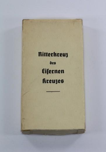 Umkarton für das Ritterkreuz des Eisernen Kreuzes - Steinhauer & Lück Lüdenscheid - Militaria-Berlin