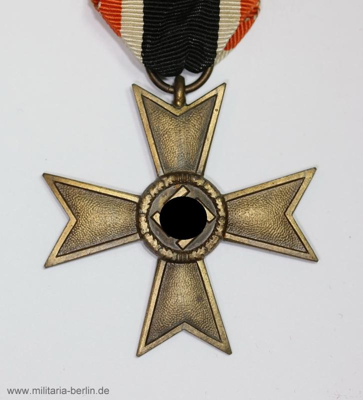 Kriegsverdienstkreuz ohne Schwert
