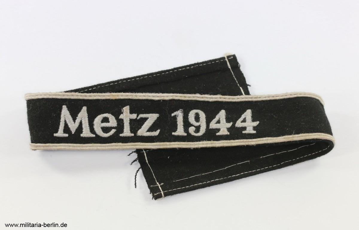 Ärmelband Metz 1944 Militaria Berlin